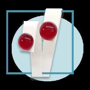 12 mm-es fülbevalók